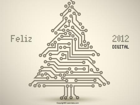 feliz 2012 digital