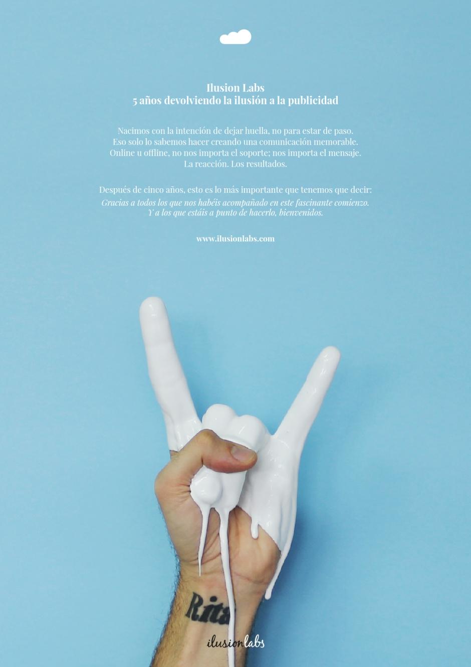 Campaña aniversario 5 años de ilusionlabs