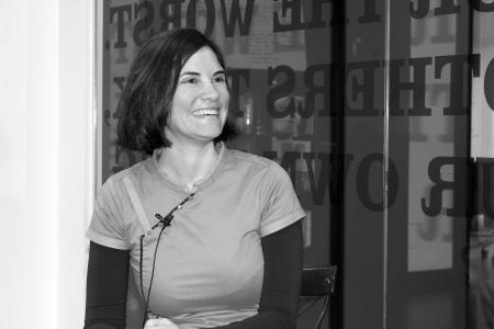 Nelia Higueras, responsable del proyecto Mentes libres